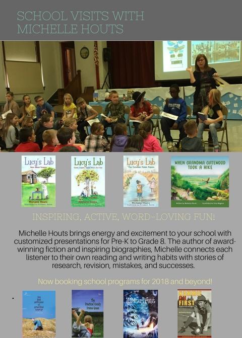 School visits Michelle Houts