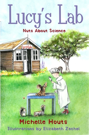 Lucy's Lab Book #1 Nuts About Science web small